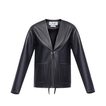 LOEWE Patch Pocket Jacket Negro front