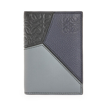 LOEWE Puzzle Bifold Card 黑色 front