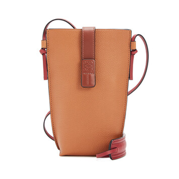 LOEWE Pocket Light Caramel/Pecan front