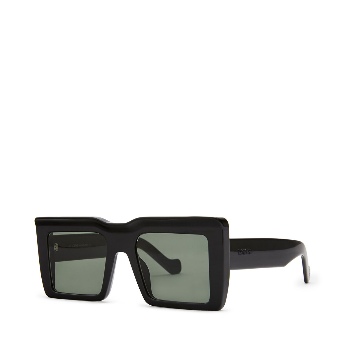 LOEWE Oversize Square Sunglasses Black front