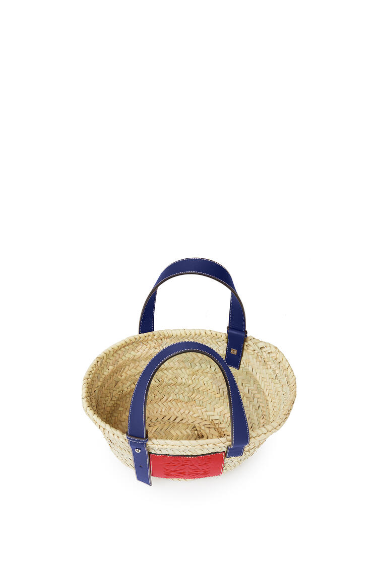 LOEWE London Basket Small Bag Natural/Primary Red pdp_rd