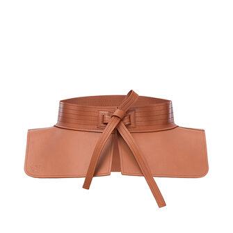 LOEWE Cinturon Obi Bronceado front