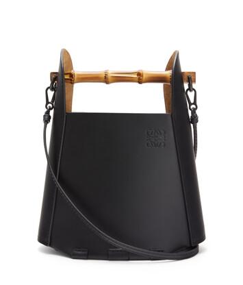 LOEWE Bucket Bamboo Negro front