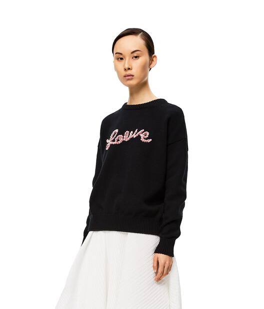 LOEWE Loewe Sweater Black front