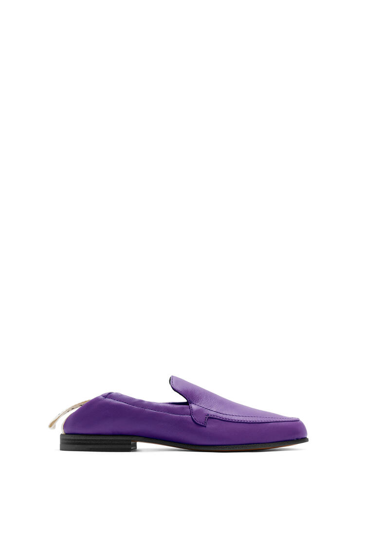 LOEWE Elasticated loafer in calf Purple pdp_rd