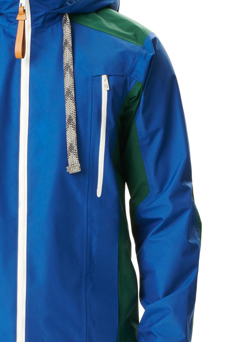 LOEWE Parka in nylon Blue/Green pdp_rd