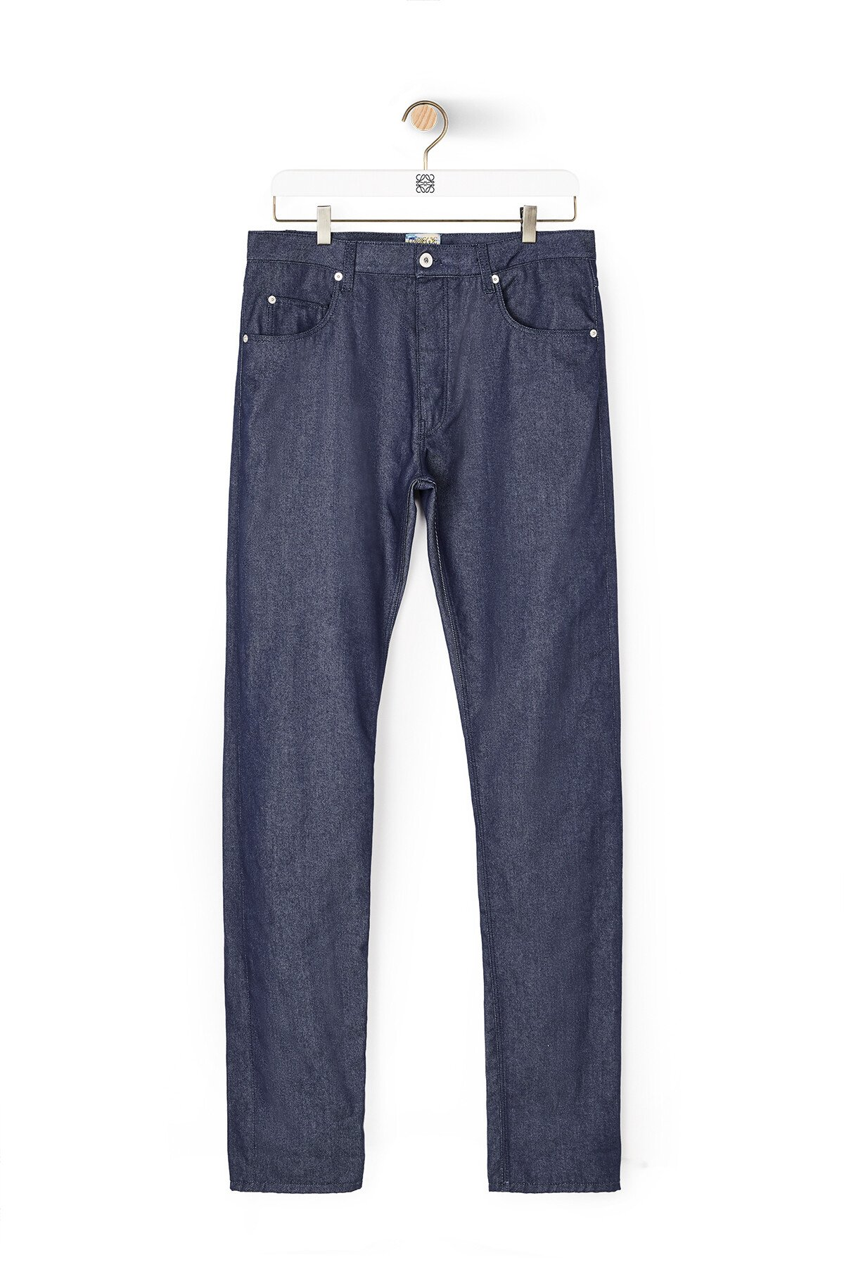 LOEWE Eln Jeans Navy Blue front