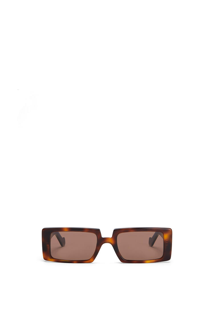 LOEWE ANAGRAM RECTANGULAR SUNGLASSES Havana/Brown pdp_rd