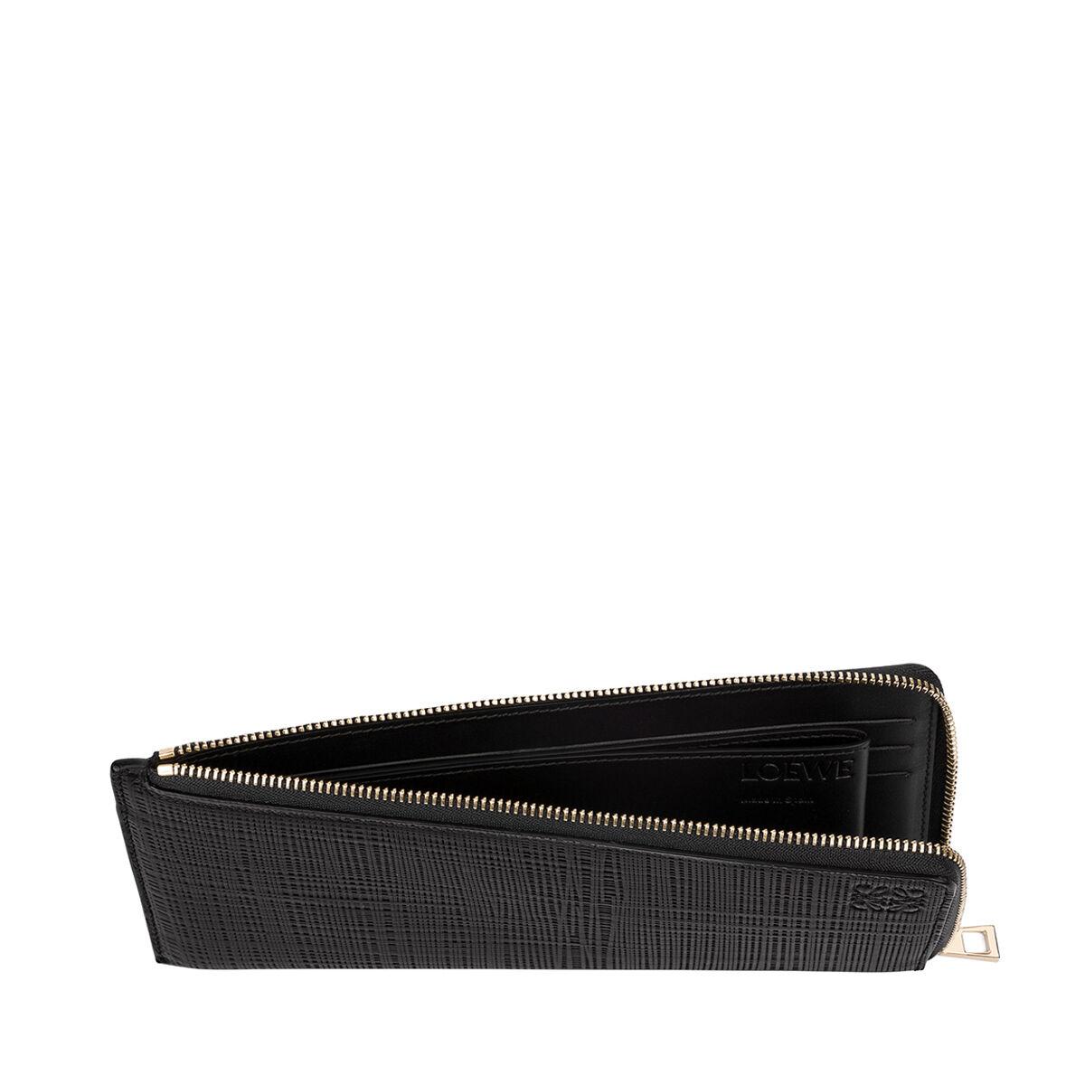 LOEWE Flat Zip Around Black all
