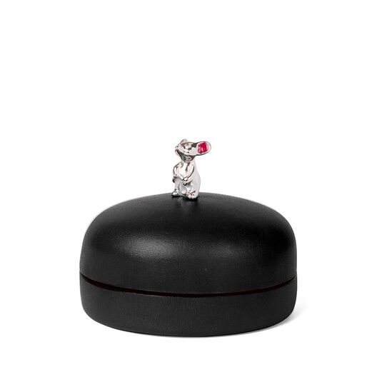 LOEWE Box Mouse Small 黑色 front