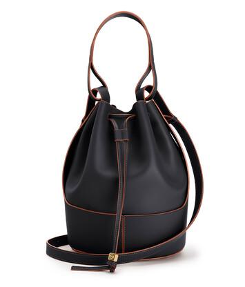 LOEWE Balloon Large Bag 黑色 front