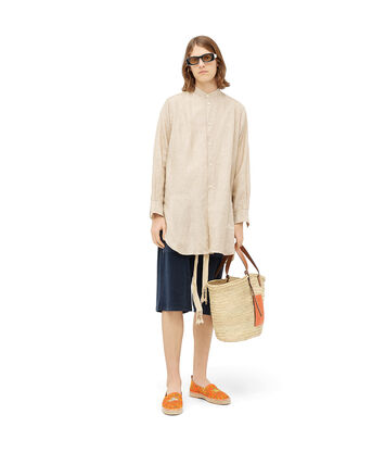 LOEWE Paula Towel Shorts 海军蓝 front