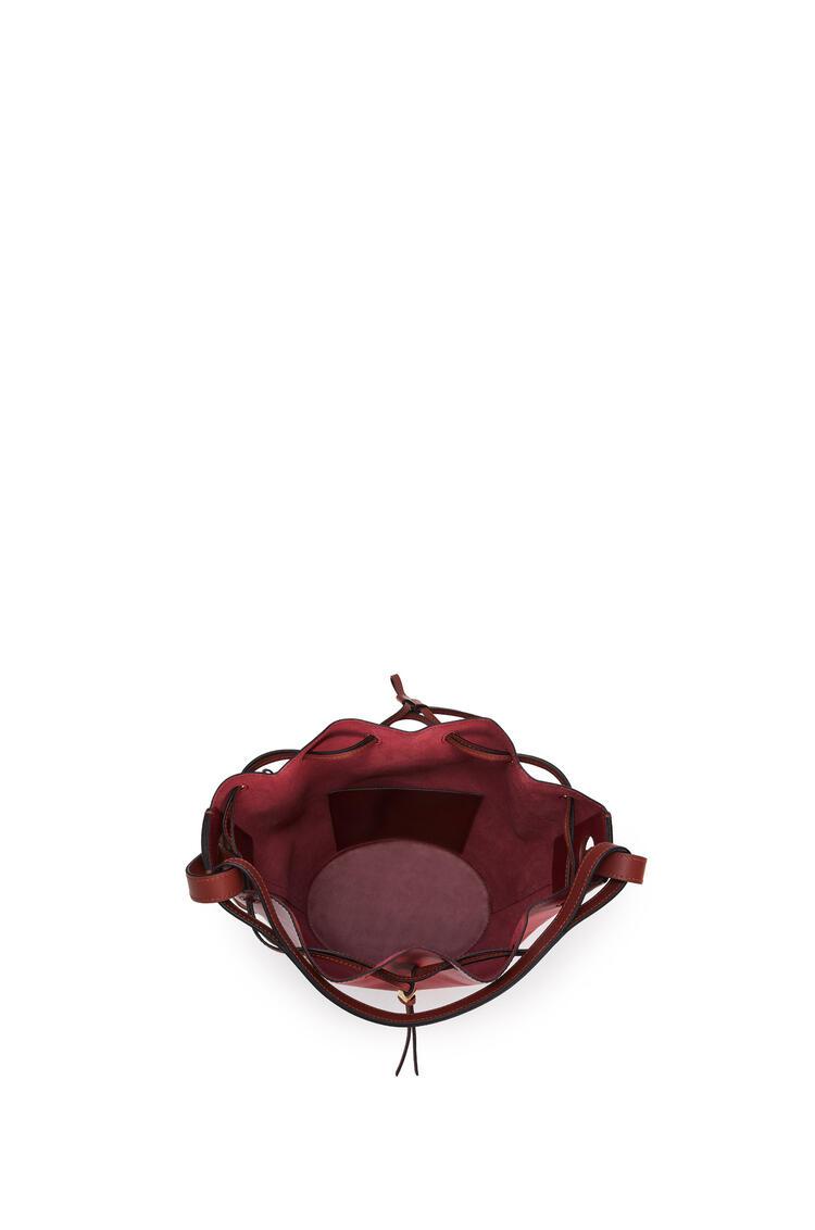 LOEWE Balloon bag in nappa calfskin Deep Red/Dark Rust pdp_rd