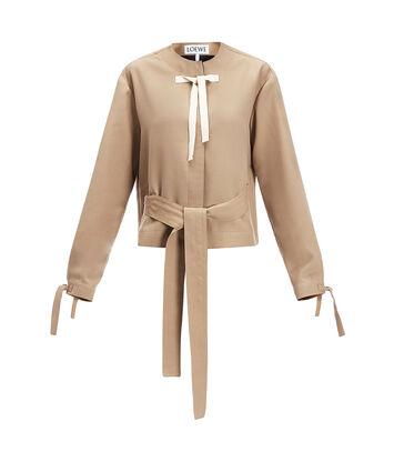 LOEWE Jacket Beige front