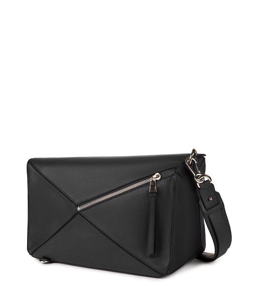 LOEWE Puzzle Xl Bag Black front
