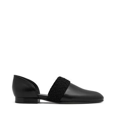 LOEWE Flex Loafer Flat Negro front