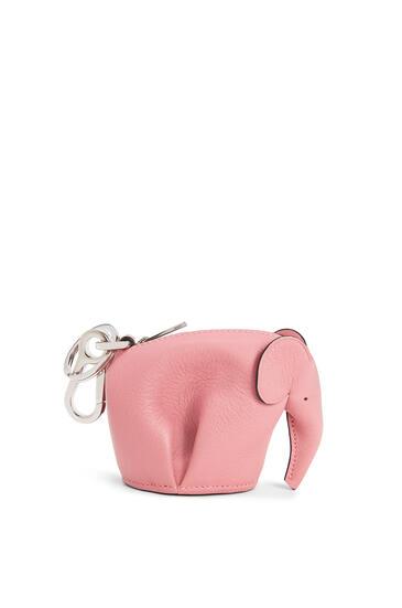 LOEWE Elephant Charm In Classic Calfskin 糖果粉 pdp_rd