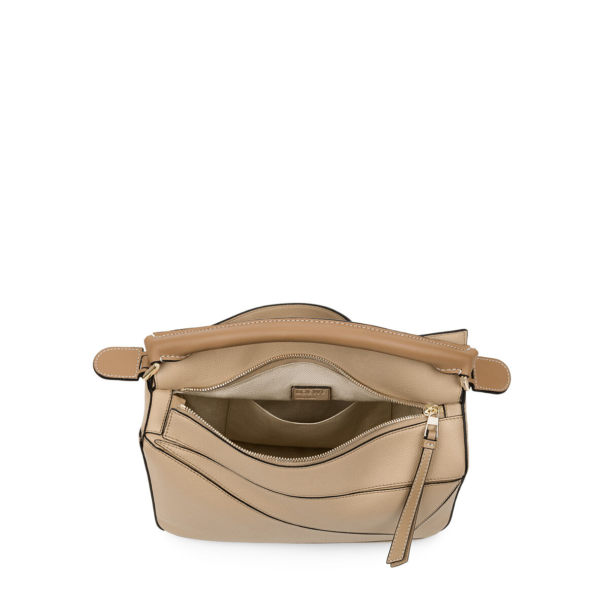LOEWE パズル バッグ Sand/Mink Color all