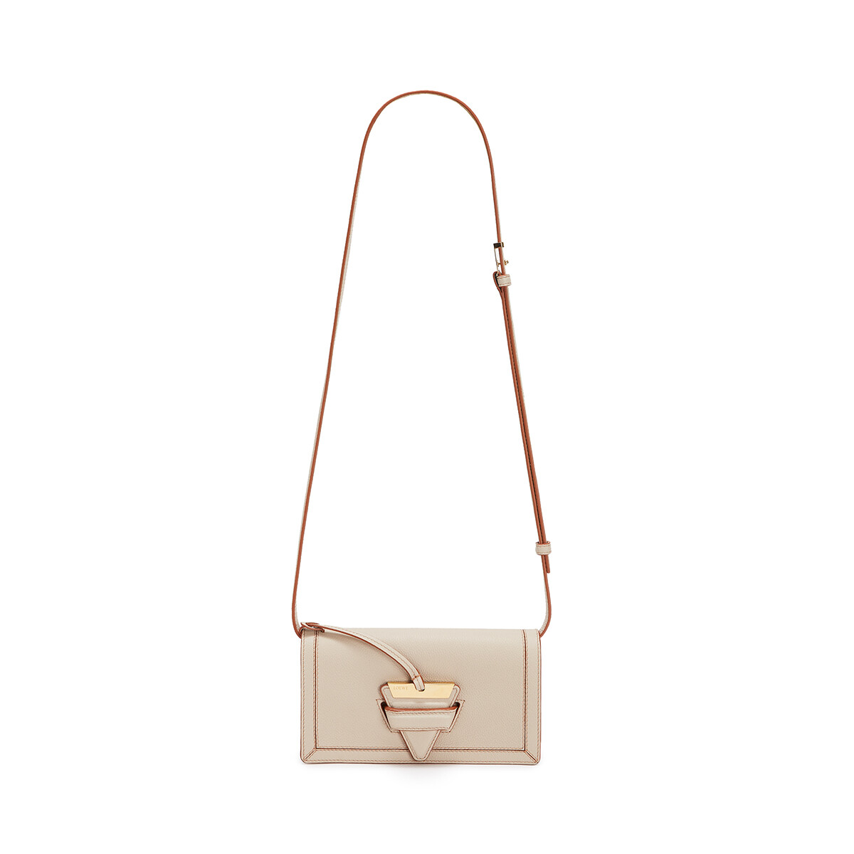 LOEWE Barcelona Soft Mini Bag Light Oat front