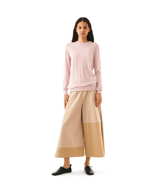 LOEWE Anagram Sweater Baby Pink front
