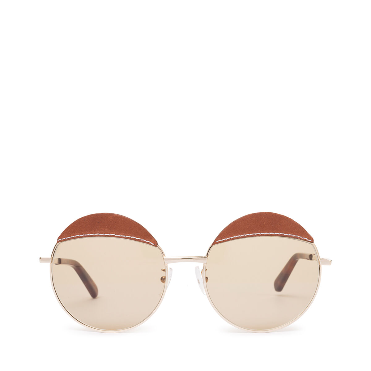 LOEWE Round Sticth Sunglasses Brown/Light Brown all