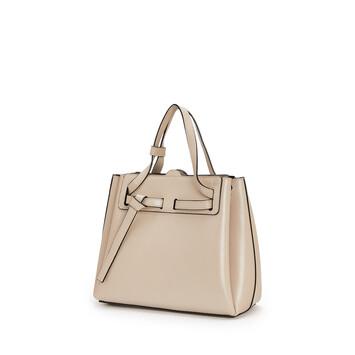 LOEWE Lazo Mini Bag Light Oat  front