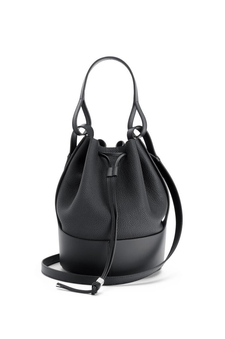 LOEWE Balloon bag in grained calfskin Black pdp_rd