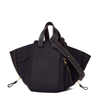 LOEWE Hammock Small Bag Midnight Blue/Black front