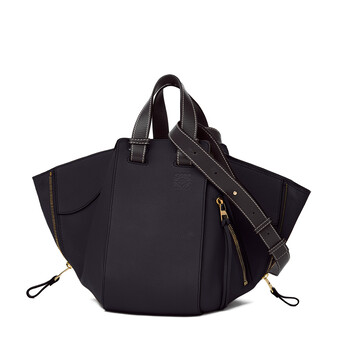 LOEWE Hammock Small Bag Midnight Blue/Black front