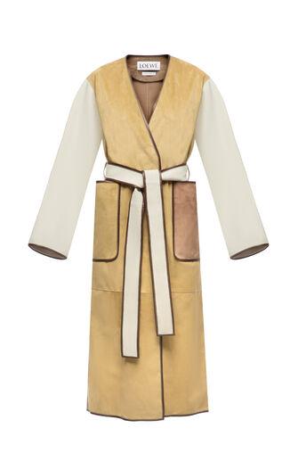 LOEWE Coat Gold front