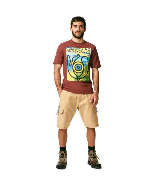 LOEWE T-Shirt Loewe Eye Burgundy front