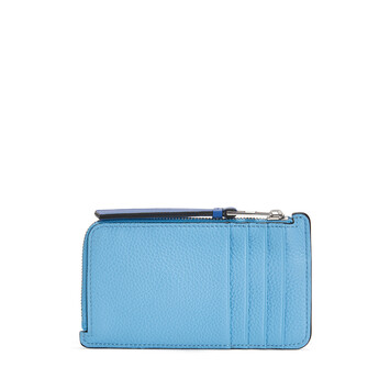 LOEWE Coin Card Holder Multicolor front