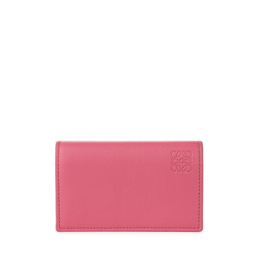 LOEWE Business Card Holder Fucshia/Sand all
