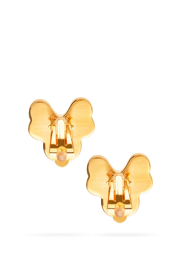 LOEWE Pansy earrings in semi precious stones Pink pdp_rd