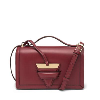 LOEWE Barcelona Bag Brick Red front