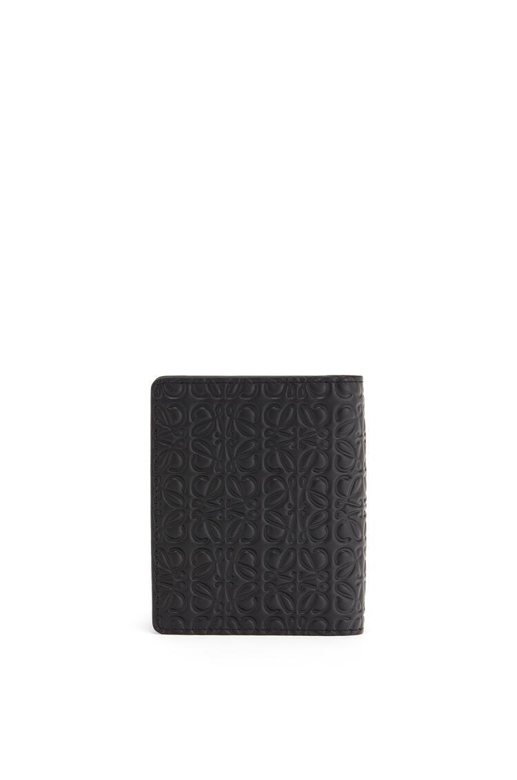 LOEWE Compact zip wallet in calfskin Black pdp_rd
