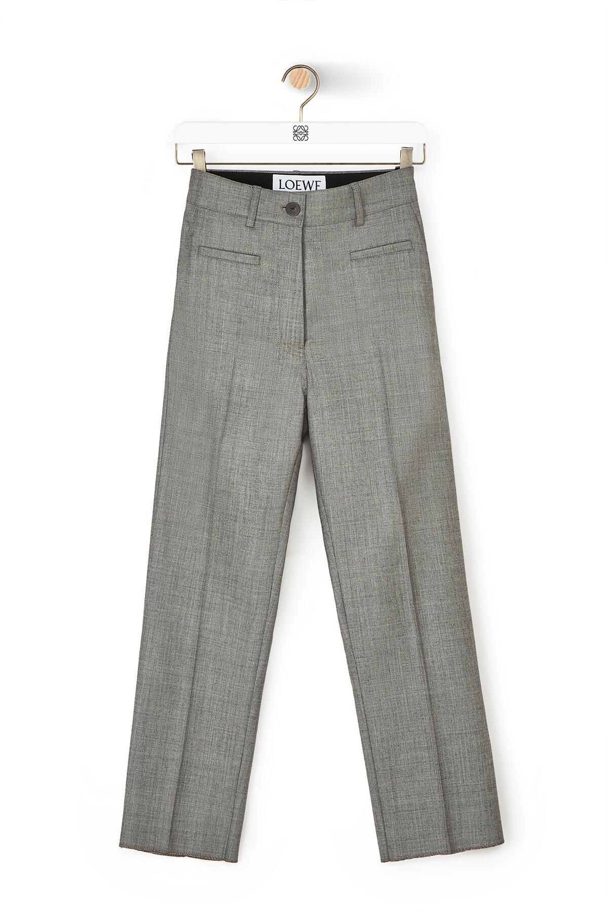 LOEWE Fisherman Trousers Grey front
