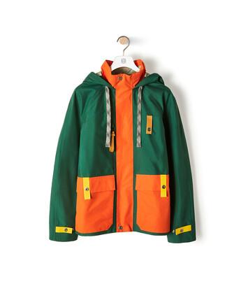 LOEWE Eln Parka Orange/Green front