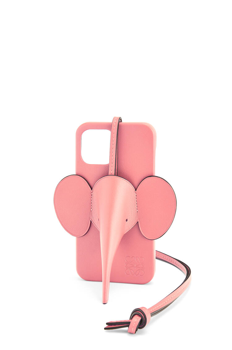 LOEWE Elephant phone cover in calfskin for iPhone 12 Pro Max Candy pdp_rd