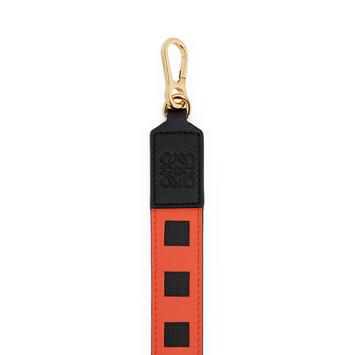 LOEWE Grid Strap Vermillion/Black front