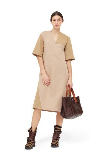 LOEWE Tunic Dress Beige front