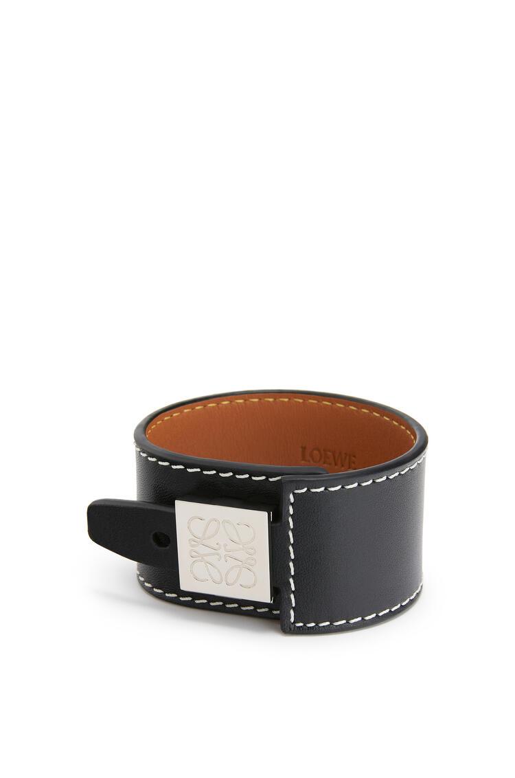 LOEWE Wrap Bracelet In Calfskin Black pdp_rd