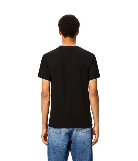 LOEWE Anagram T-Shirt Negro front