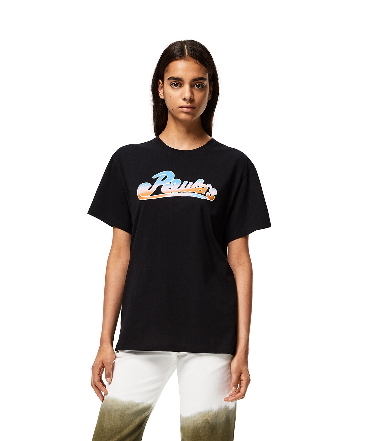 LOEWE T-Shirt In Cotton Black front