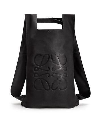 LOEWE Shopper Backpack Black front