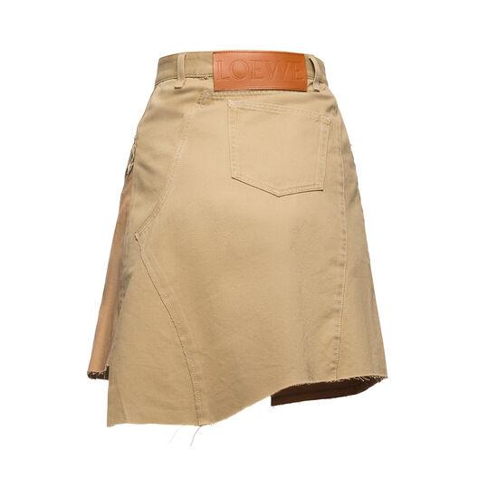 LOEWE Chino Skirt Beige all