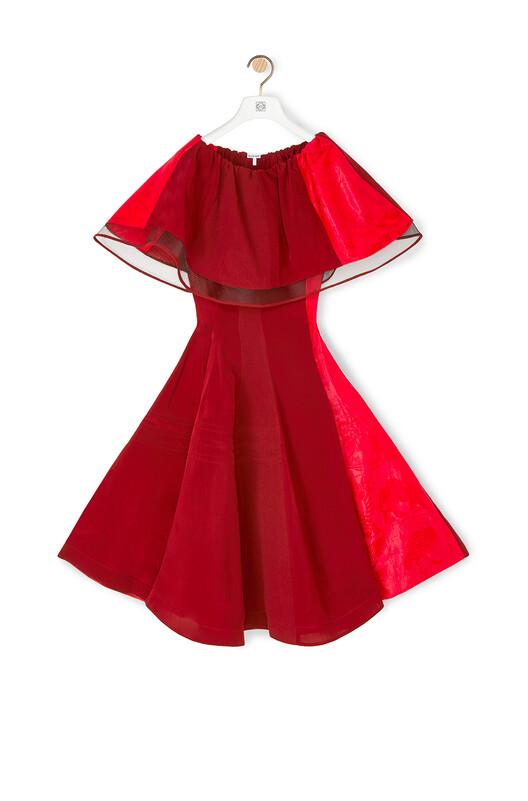 LOEWE Doll Dress Rojo front