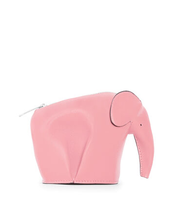 LOEWE Elephant Coin Purse Candy front