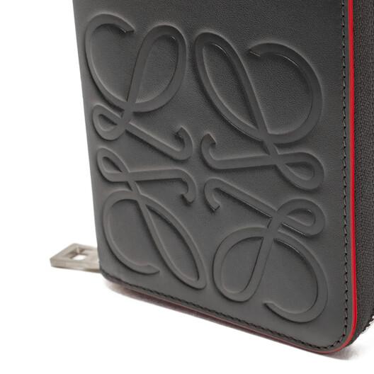 LOEWE Brand Open Wallet 黑色 front