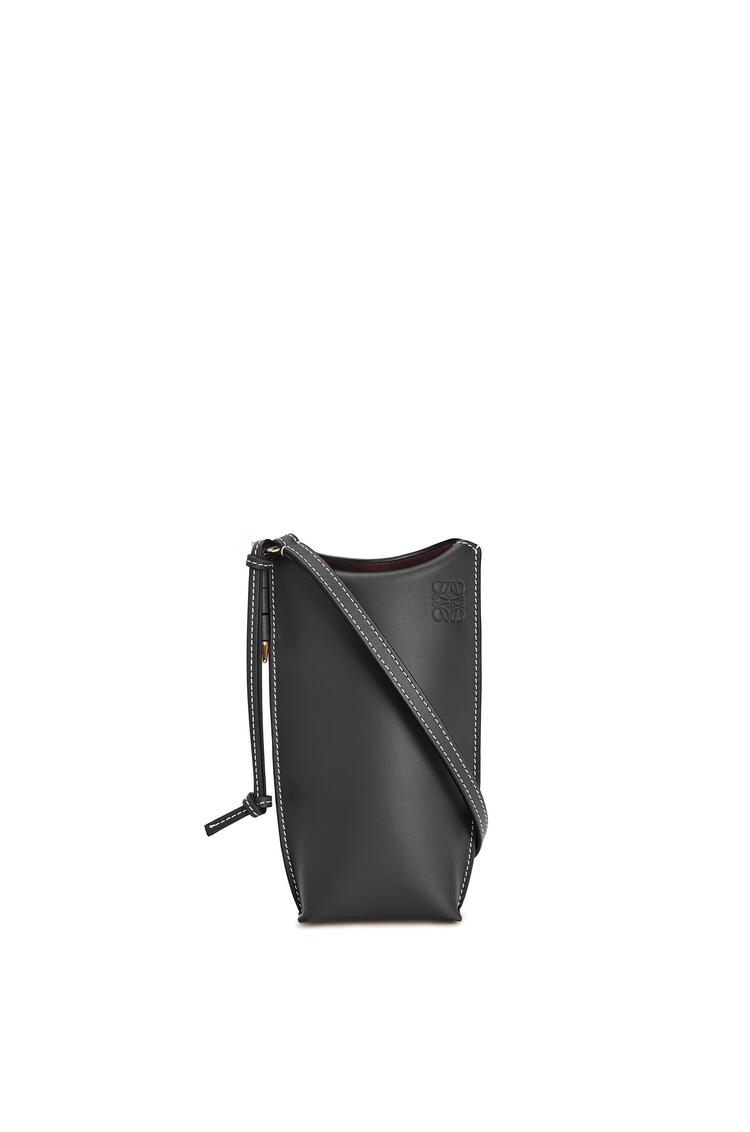 LOEWE Gate Pocket In Soft Calfskin Black pdp_rd